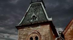 Spooky Garret Timelapse Stock Footage
