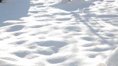 Snow field Alps Stock Footage