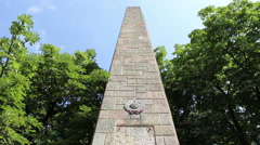 Victory of Communism Monument Timelapse Stock Footage
