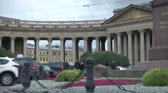 Hermitage Museum of Russia Stock Footage