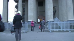 Petersburg Hermitage Museum Stock Footage
