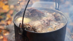 Hunting broth Stock Footage