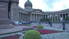 Russia Petersburg Hermitage Museum Stock Footage