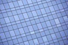 modern facade window building of glass and steel - stock photo