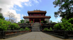 Temple Asia 03 Stock Footage