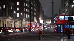 Whitehall Street London Westminster at Horseguards Parade Stock Footage