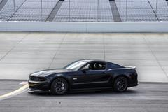 2011 Ford Mustang - Dover Speedway - stock photo