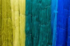 silk transform to products in thailand - stock photo