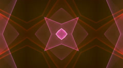 Stock Video Footage of dimension graph mix orange kaleida