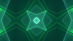 dimension graph mix green kaleidoscope Discount Period  - stock footage