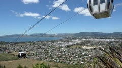 Skyline Rotorua Gondola New Zealand 02 Stock Footage