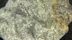 A Piece of Talc Rock Stock Footage