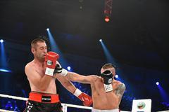 Fight for WBO Inter-Continental cruiserweight champion belt - stock photo