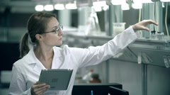 Check-up List Stock Footage