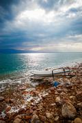 Dead sea salt shore Kuvituskuvat