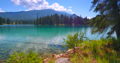 4K Pristine Clear Lake Water, Summertime Stock Footage