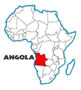 Angola Stock Illustration