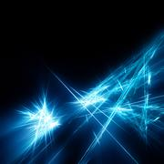 shining fractal - stock illustration