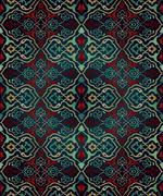 Artistic ottoman seamless pattern series Stock Illustration