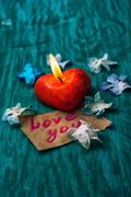 symbolic valentines day - stock photo