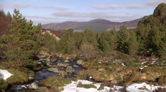 CAIRNGORMS NATIONAL PARK, SCOTLAND  2 Stock Footage