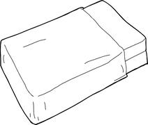 Mattresses with blanket Stock Illustration