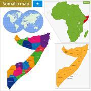 Stock Illustration of Somalia map