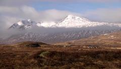 RANNOCH MOOR, HIGHLANDS, SCOTLAND 4 Stock Footage
