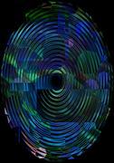 ripple background - stock illustration