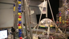 Nemo Science Centre in Amstredam, Netherlands Stock Footage