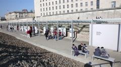 World War 2 Memorial in Berlin, Germany Stock Footage