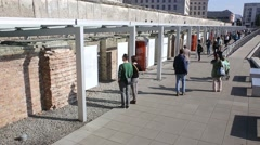 Berlin landmark Topography of Terror - stock footage