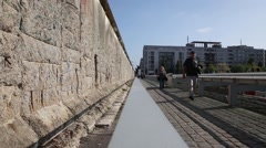 The Topography of Terror in Berlin, Germany - stock footage