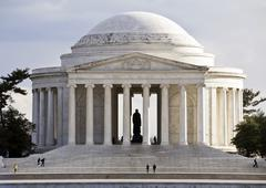 Thomas Jefferson Memorial, in Washington, DC, USA - stock photo