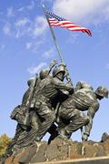 Iwo Jima Memorial  in Wash DC, USA Stock Photos