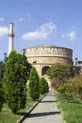 Galerius' Rotunda of St. George (Galerius' Tomb) in Thessaloniki,Greece - stock photo