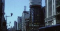 Tokyo 70s 16mm Street City Jam Stock Footage