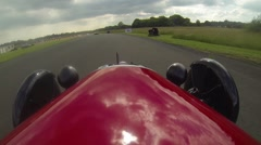 Morgan 3 Wheeler onboard 2 Stock Footage