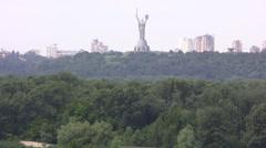 Overall View Kiev - stock footage