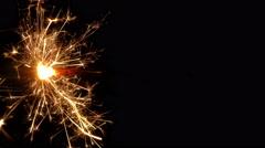 sparkler 02 - stock footage