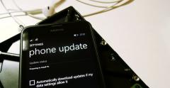 Nokia Lumia Microsoft Download Process Update Stock Footage