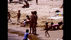 Manly Beach Sydney Australia - 1970's Stock Footage