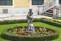 UNESCO World Cultural Heritage: Schloss Schoenbrunn Palace, Vienna - Austria - stock photo