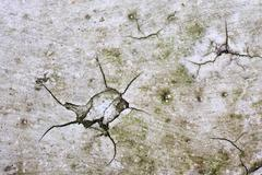 grubby cracked paint background - stock photo