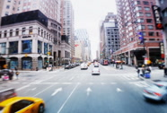 Stock Video Footage of Driving in Manhattan POV NTSC