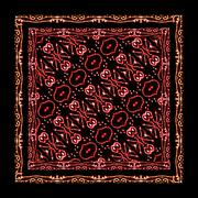 tribal ornament pattern - stock illustration