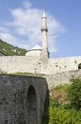 Travnik castle, in Bosnia and Herzegovina Stock Photos