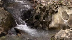 STREAM, GLEN COE, SCOTLAND Stock Footage