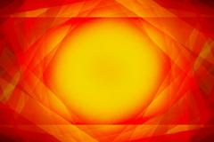 red and yellow sunshine background - stock illustration
