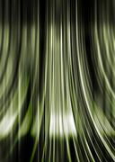 green and black flowing background - stock illustration